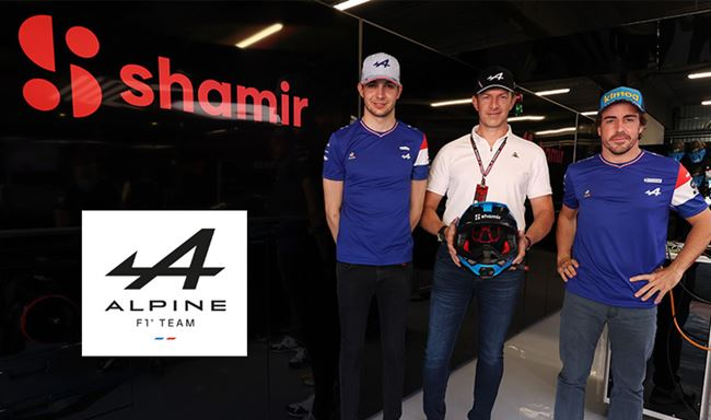 Alpine F1 team finds optical performance partner in Shamir