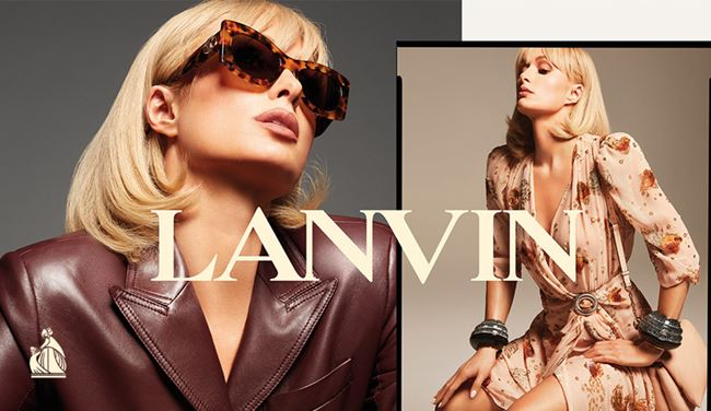 Lanvin does it with Paris Hilton