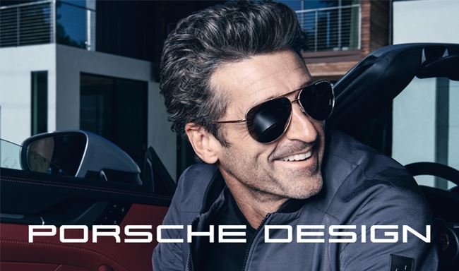 Patrick Dempsey and Porsche Design are the perfect match
