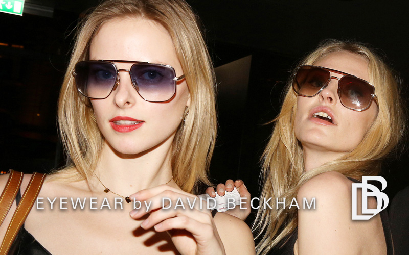 David Beckham Eyewear launch in Amsterdam