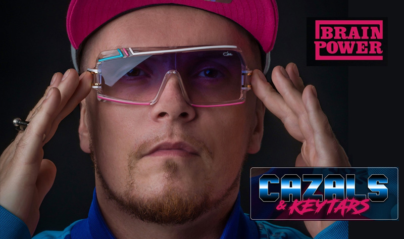 Dutch rapper pays tribute to Cazal Eyewear